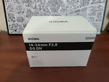 Sigma Art 14-24mm f/2.8 DG DN Wide Angle Camera Lens - Sony E-mount