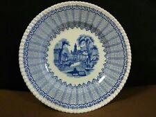 """Lovely Vtg.Solian Ware SoHo Pottery England""""Pandora""""Blue Scalloped Dessert Plate"""