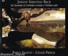 Bach: Sonate Per Violino e Clavicembalo / Pablo Valetti, Céline Frisch - CD