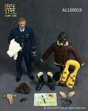 1:6 AL100019 Alert line WWII Royal Air Force-Fighter Pilot Figure Set Collection