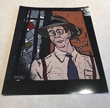 Harry Anderson Cheers 8x10 Pop Art Sketch Print The Hat Magic Night Court It