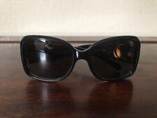 Beautiful Tory Burch TY9010 501/T5 130 2P Black Polarized Sunglasses EUC