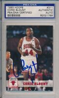 1993 Hoops Corie Blount Signed Card #311 PSA/DNA Auto Chicago Bulls #1788