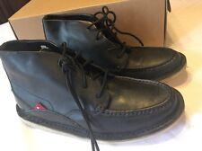 Oliberte Mogado Moccasin Chukka Boot Black Size 7