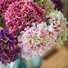 5 Heads Wedding Artificial Hydrangea Silk Flower Home Party Floral Bouquet Decor