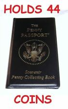 PENNY PASSPORT PRESSED ELONGATED COIN ALBUM BOOK NEW