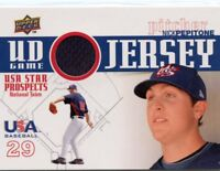 Nick Pepitone 2009 Upper Deck USA Star Prospects UD Game Jersey