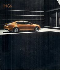 MG MG6 Fastback 2009-10 UK Market Preview Sales Brochure 1.8T S SE TSE