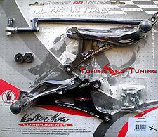 ESTRIBERAS VALTERMOTO TIPO 1 PARA YAMAHA YZF R1 1000 2004 2005 2006  (PEY30)