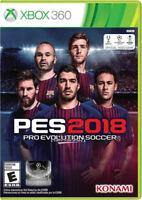 Pro Evo Soccer 2018 Xbox 360 New Xbox 360, Xbox 360