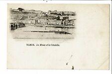CPA Carte Postale Belgique-Namur-La Meuse et la citadelle -Début 1900-VM27801m