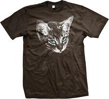 Kitten Blue Eyes Cat Cute Pet Owner Adorable Kitty Sad Whiskers <3 Men's T-Shirt