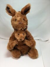 KANGAROO & Baby Joey Kohl's Cares For Kids Plush Stuffed Animal Soft and Lovable
