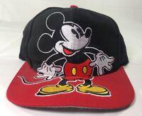 Vintage Mickey Mouse Hat Snapback Baseball Cap 90's Disney Big Logo