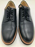 "Samuel Hubbard Men's ""Founder"" Black Leather Pre-Owned FB-01"