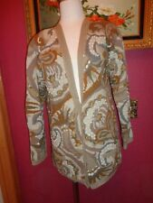 ADRIENNE VITTADINI 100% COTTON VINTAGE WOMENS 28 INCHE CARDIGAN SMALL NEW
