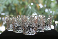 Gorgeous Cut Crystal Old Fashioned Glasses (6)