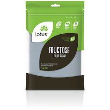 Lotus Fructose (Fruit Sugar) 1kg - SHIPS TODAY! #H107