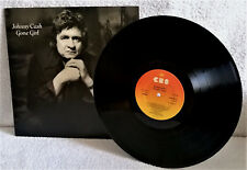 JOHNNY CASH-GONE GIRL-VINYL-The Gambler-Rock & Roll With you-It'll Be Her-EX/EX