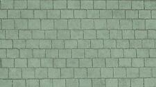 Grey slate roof paper for dolls house, 2 sheets SUPPLIED FOLDED