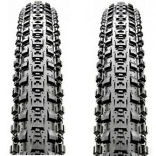 "1 PAIR(2PCS) Maxxis Crossmark MTB Tyres. 26 x 2.10"" Black Mountain Bike Tires"