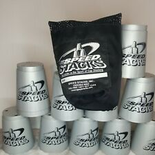 Speed Stacks Cups Silver 12 Cups