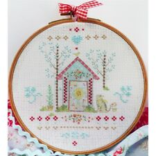 """Charles Craft Counted Cross Stitch Kit 8""""x8""""-tamar Home (14 Count)"""
