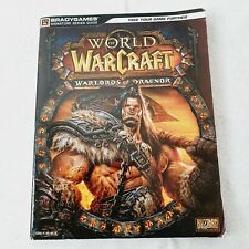 World of Warcraft Warlords Of Draenor Official Strategy Guide Brady Games 2014