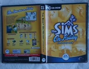 THE SIMS PC ON HOLIDAY EXPANSION PACK GAME LIFE SIMULATION VACATION VGC