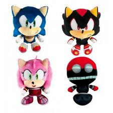 Sonic The Hedgehog Boom Shadow Amy Orbot Super Plush Stuffed TOMY Gift Toy SET