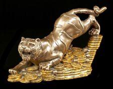 Feng Shui Figur - Geld Tiger - Glücksbringer Geschenk Buddha Geldsegen