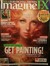 Imagine FX UK New Art Skills Fresh Ways w/Colour Feb 2015 FREE PRIORITY SHIPPING