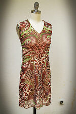 Jean-Paul Gaultier for Target Size MJr.-M Sheer Mesh Koi Fish Halter Mini Dress
