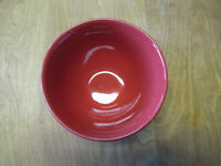 """Pottery Barn Portugal CAMBRIA RED Cereal Bowl 6""""        4 available"""