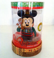 "DISNEY VINYLMATION 3"" JINGLE SMELLS MICKEY MOUSE GINGERBREAD ORNAMENT CHRISTMAS"