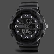 SKMEI 1189 Men's Waterproof Sports Military Shock Analog & Digital Quartz Watch