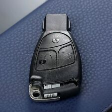 3Button Replacement Car Smart Insert Key Fob Case Shell For Mercedes-Benz