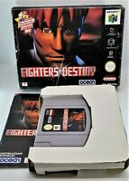 Fighters Destiny Video Game for Nintendo N64 PAL TESTED BOXED