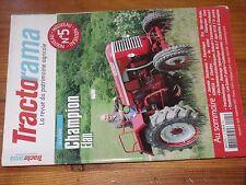 $$$ Revue Tractorama N°5 Champion ElanBobardFordson FRelevage hydraulique