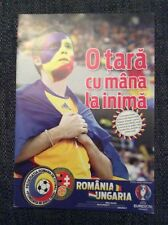 Romania v Hungary 2014 European Championship Qualifying Programme