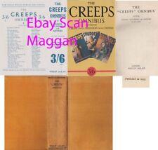 THE CREEPS OMNIBUS  1st w/ fdj 1935 Philip Allan Scarce Horror stories