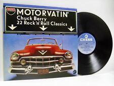 CHUCK BERRY motorvatin'  LP EX+/EX, 9286 690, vinyl, compilation, uk, chess 1977