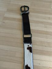 Dolce&Gabbana Calf Leather Belt Gürtel Herren 95cm Neupreis 189€