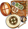 "Waltons 12"" Knotwork Cross Irish Bodhrán Bodhran Pack Gift 10AWAL-P2309"