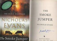 SIGNED NICHOLAS EVANS THE SMOKE JUMPER FIRST EDITION HARDBACK  DJ 2001