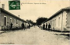 CPA Militaire, Camp de la Braconne - Logements des Officiers (278708)