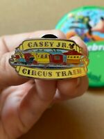 CASEY JR CIRCUS Train- Disney DLR 2019 Hidden Mickey Fantasyland Attraction Pin