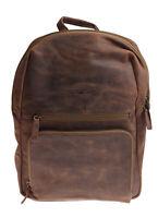 Greenburry Umhängetasche  Braun Ledertasche Rucksack Tasche 30x39x13cm