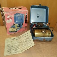 VINTAGE OPTIMUS 8 R PICNIC CAMPING STOVE - BOXED - WORKING, 19J