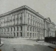 New General Post Office,St. Martine Le Grand, London, Magic Lantern Glass Slide